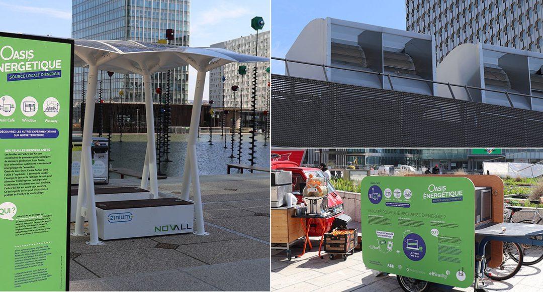 Projets urbains durables : des oasis énergétiques à Paris La Défense