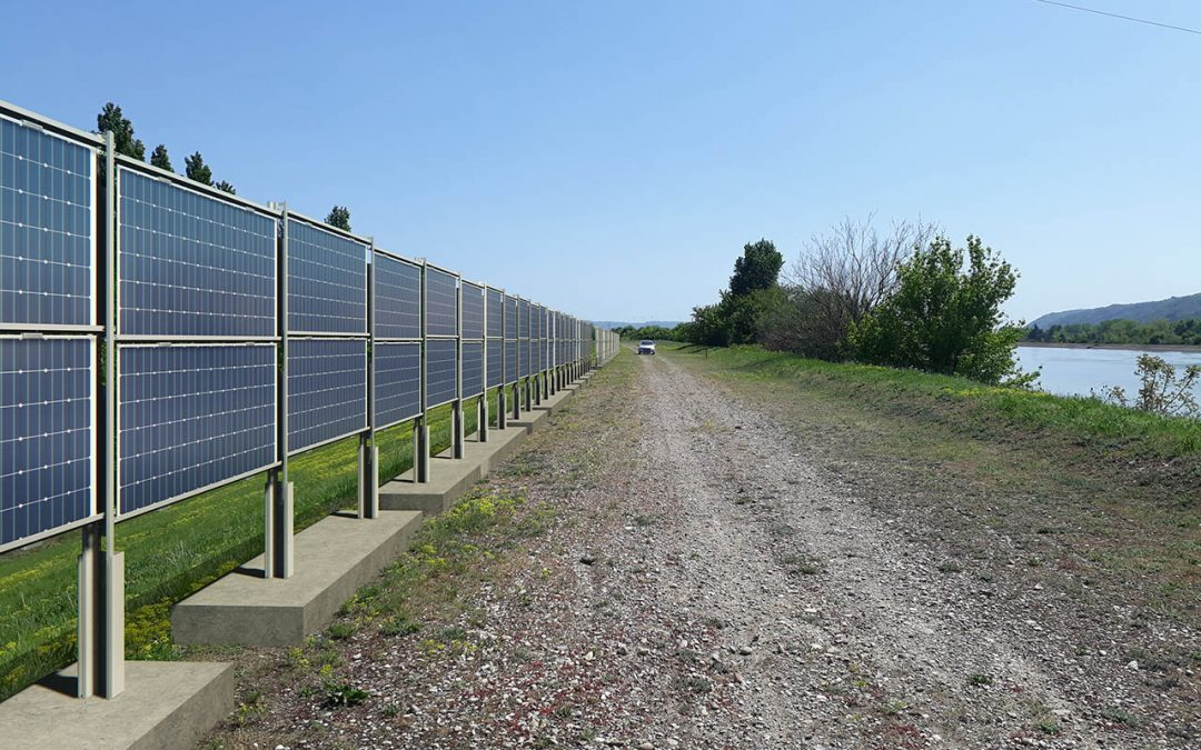 Energies vertes : CNR développe le solaire photovoltaïque grand linéaire avec l'ITE INES.2S