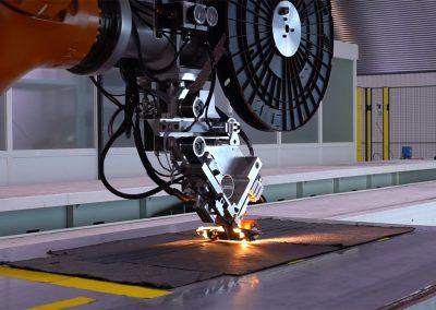 Matériaux : mise en œuvre d'une ligne de fabrication automatisée de préformes composites textiles