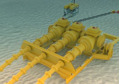 Equipement électrique sous-marin : une solution innovante pour les futurs parcs éoliens offshore flottants